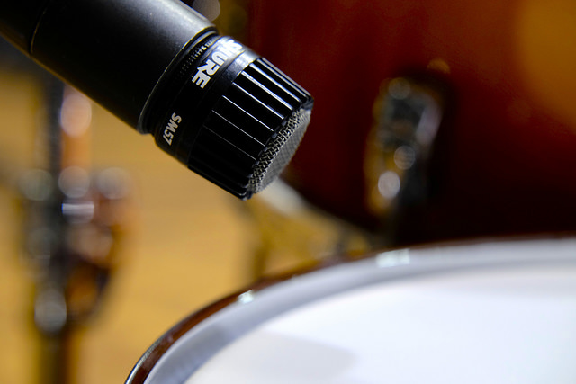 TRR129 3 Reasons To Own A Shure SM-57 Microphone